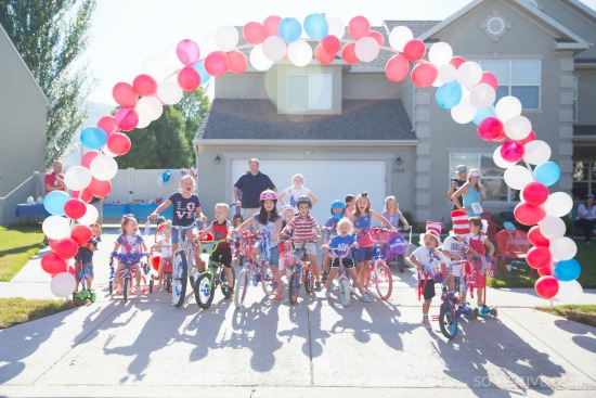 Patriotic Family-Friendly Bike Ride for the 4th of July