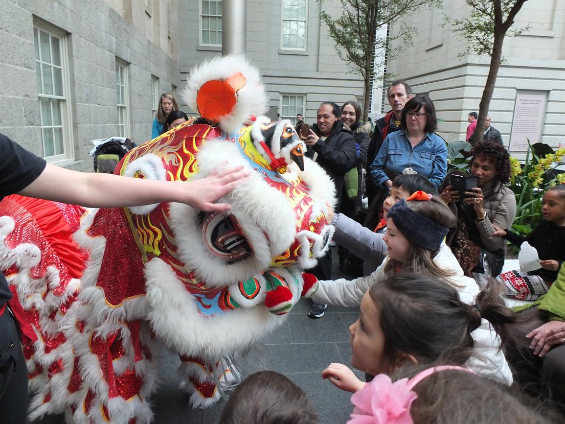 Chinese New Year Family Celebration American Art Museum