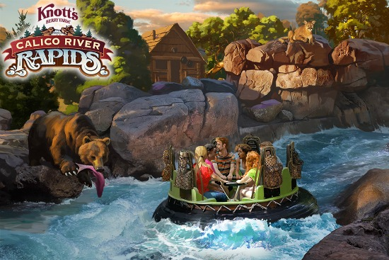 Calico River Rapids at Knott's Berry Farm